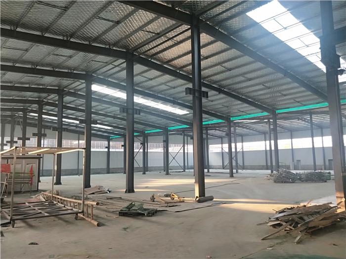 中电信浦电气钢结构施工