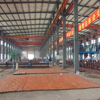 中立柱型钢结构厂房