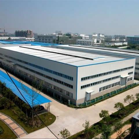 带气楼多栋型沧州钢结构厂房