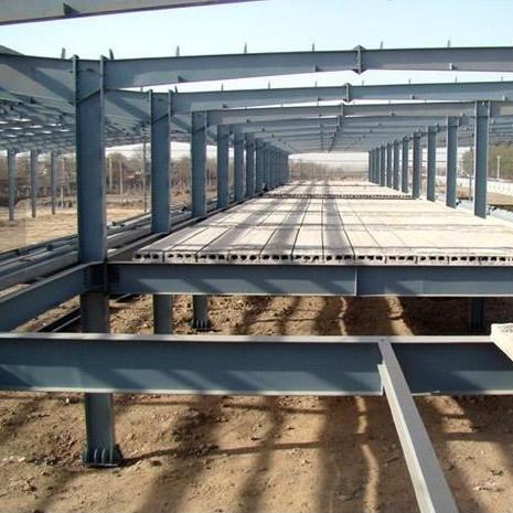 预制板式钢结构工程