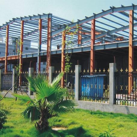 连跨两层式钢结构工程