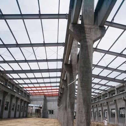 混钢结构式钢结构工程