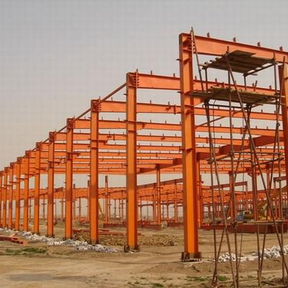 多跨式钢结构工程