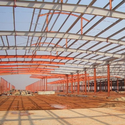 钢结构厂房车间施工